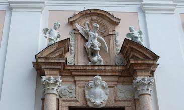 Photo: Eingang Alte Bischhöfliche Residenz.