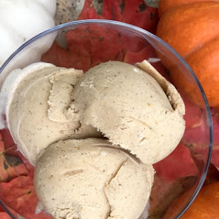 Pumpkin and 5-Spice Powder Ice Cream