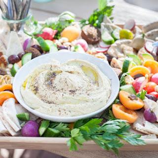 Ultimate Mediterranean Hummus Platter
