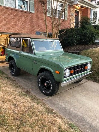 1974 Ford Bronco Hire MD