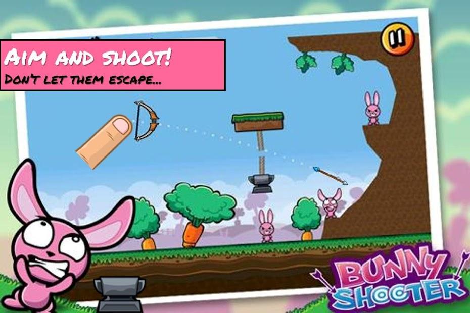 Bunny Shooter Free Funny Archery Game screenshot 6
