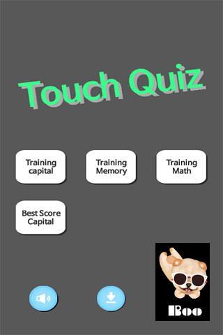 Touch Quiz