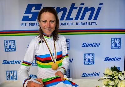 Wereldkampioene geeft regenboogtrui extra kleur in Omloop Het Nieuwsblad