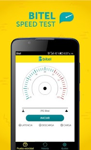 Bitel Speed Test - náhled