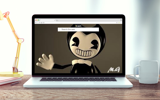 Bendy and the Ink Machine New Tab Theme