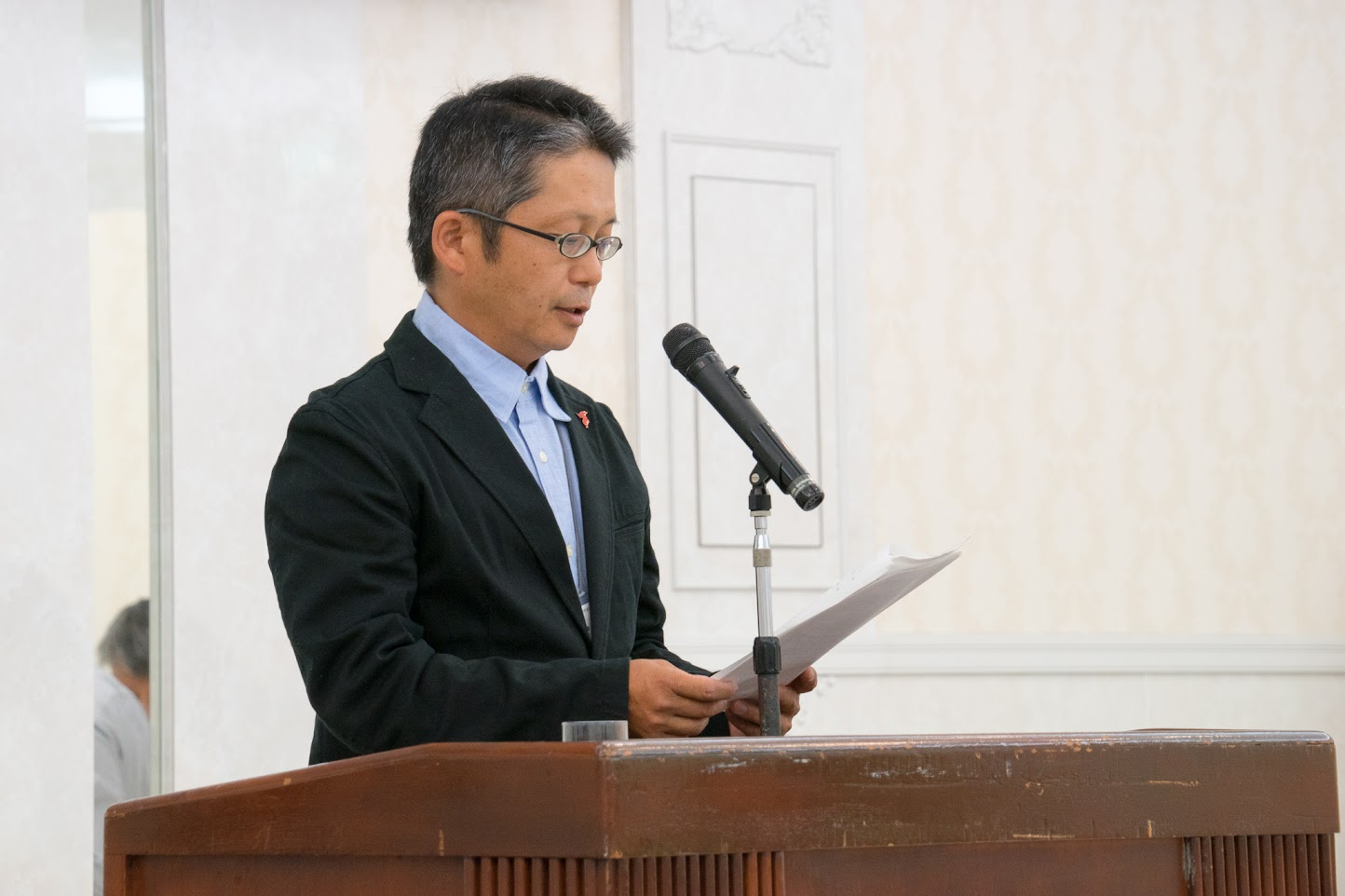 渡邊和彦 氏(農事組合法人 三芳村蛍まい研究会)