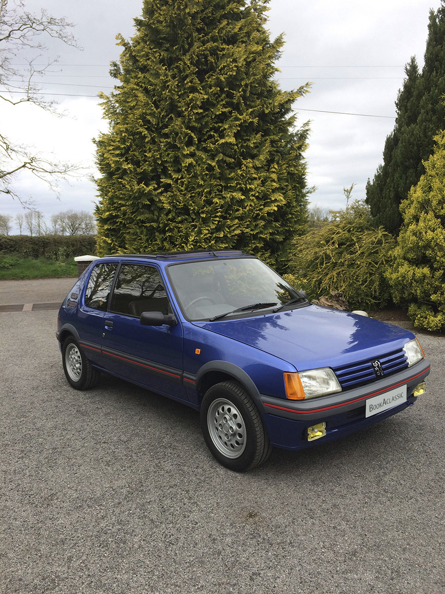 Peugeot 1.6 205 Gti Hire Omagh