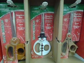 Photo: These holiday scissors were just absolutely adorable!