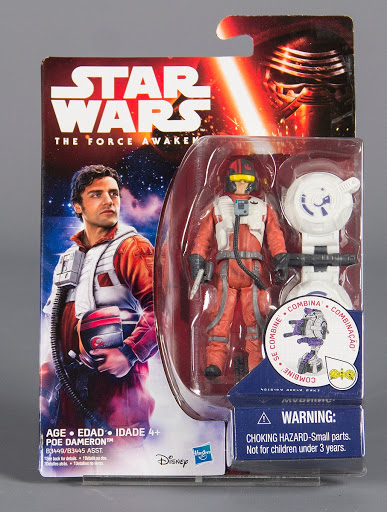 Action figure:Poe Dameron, The Force Awakens, Star Wars