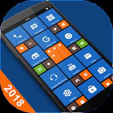 8.1 Metro Look Launcher 2018 - Theme, Smart, DIY Download on Windows