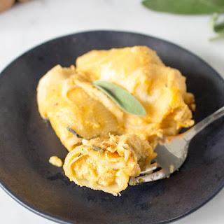 Cheesy Butternut Squash Stuffed Shells