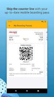 App Pegasus Airlines: Cheap Flight Tickets Booking App APK for Windows Phone