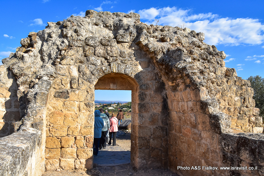Археологические памятники Израиля. Хирбет Ярда. Экскурсия на север Израиля.