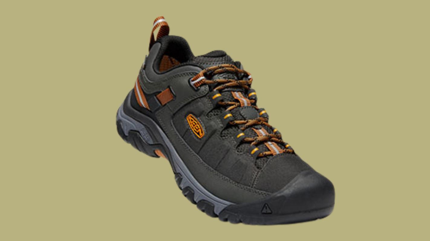 4. KEEN MEN'S TARGHEE EXP WATERPROOF รองเท้าเดินป่า สำหรับผู้ชาย
