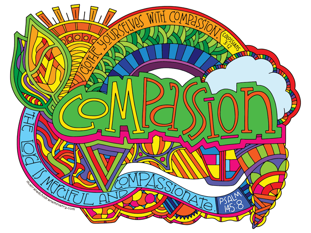 An Illustrated Compassion Curriculum & Coloring Posters