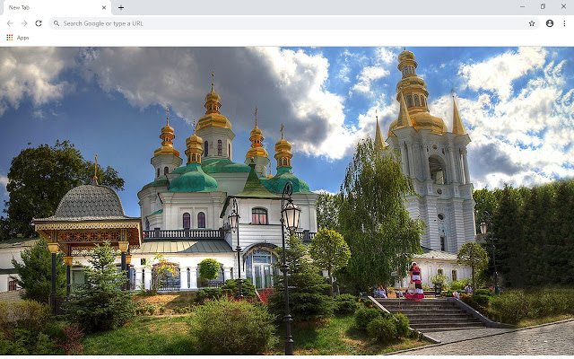 Kiev New Tab & Wallpapers Collection