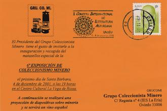Photo: Rodillo del I Conceyu internacional de literatura asturiana