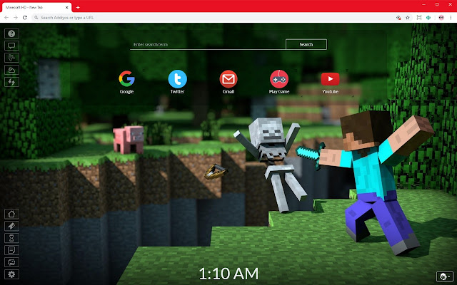 Minecraft HD 2020 Wallpapers New Tab