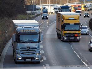 Photo: FÖLKER NEW ACTROS  ----->   just take a look and enjoy www.truck-pics.eu