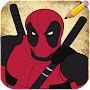 How to Draw Deadpool Characters APK icon