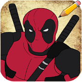 How to Draw Deadpool Characters