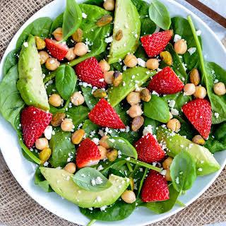 Spring Strawberry Salad.