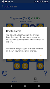 Crypto Karma - Bitcoin Investment Simulator - náhled