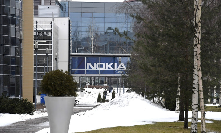 The headquarters of the Finnish telecoms company Nokia in Espoo, Finland, March 16, 2021. Picture: VIA REUTERS/LEHTIKUVA/HEIKKI SAUKKOMAA