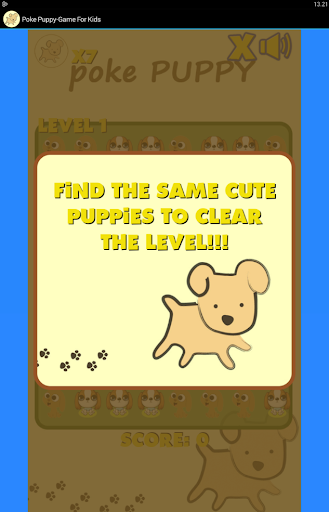Poke Puppy - Game for Kids