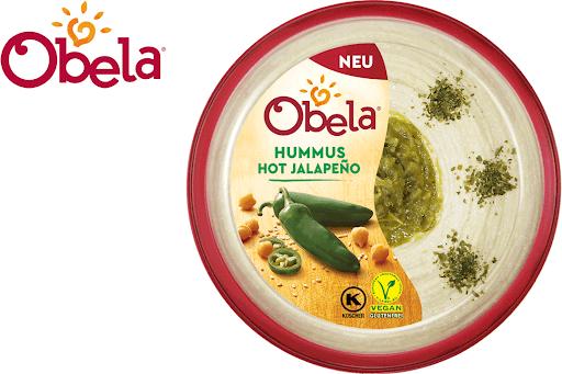 Bild für Cashback-Angebot: Obela Hummus Hot Jalapeño - Obela