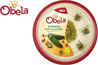 Angebot für Obela Hummus Hot Jalapeño im Supermarkt - Obela