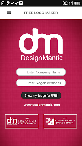 Free Logo Maker - DesignMantic 3.0 screenshots 3