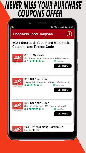 Doordash Promo Code Free Delivery 80 Off Download Apk Free For Android Apktume Com