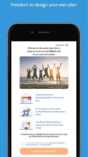 mobile@unifi screenshots 2