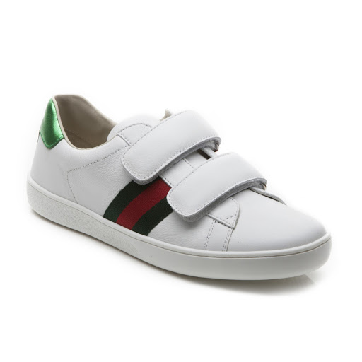 Primary image of Gucci Leather Web Trainer Junior
