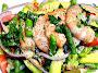Shrimp, Avocado & Asparagus Salad Recipe