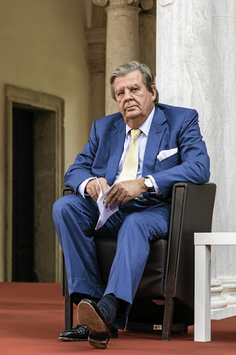 Johann Rupert: Everyone reports to him and the board. Picture: Bloomberg/Alberto Bernasconi