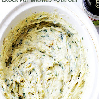 Spinach and Artichoke Dip Crock Pot Mashed Potatoes.