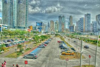 Photo: Balboa ave, Panama City
