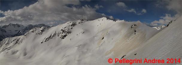 Photo: Panorama 8 sulla cresta di Cima Forzellina verso sud ovest