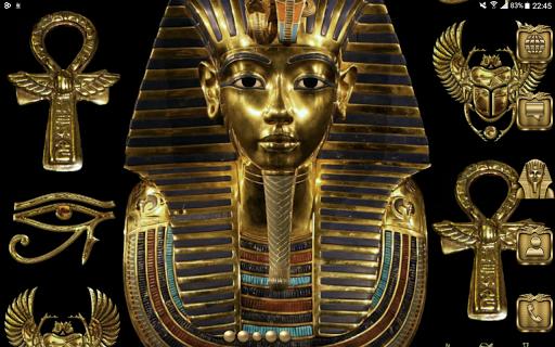 Pharaoh Go Launcher theme Aplikácie pre Android screenshot