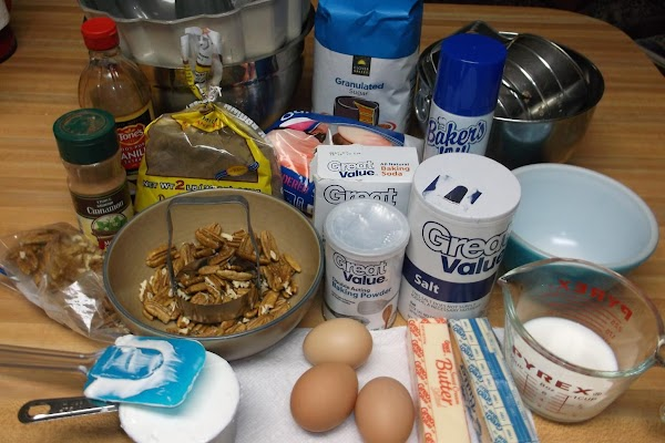 Read entire recipe, then prep ingredients and gather all ingredients and utensils needed.