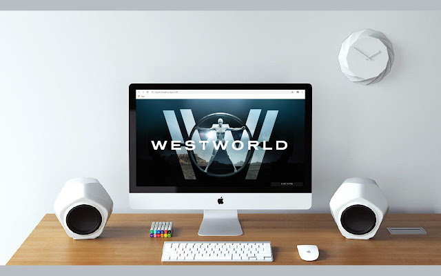 Westworld New Tab & Wallpapers Collection