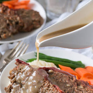 BEST Paleo Meatloaf with Gravy!! (W30).