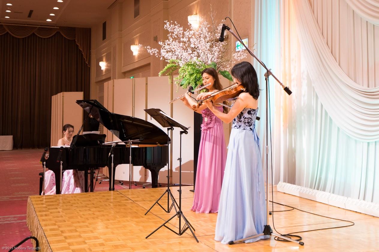フルート・ヴァイオリン・ピアノ三重奏