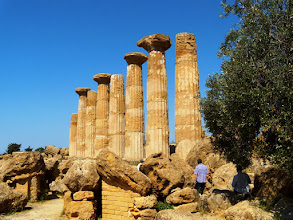 Photo: Temple of Heracles, built around 500 BC