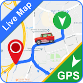 Gps Trip Route Finder & Satellite 360 Live Maps