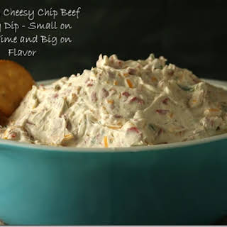 Mama's Cheesy Chip Beef Party Dip.
