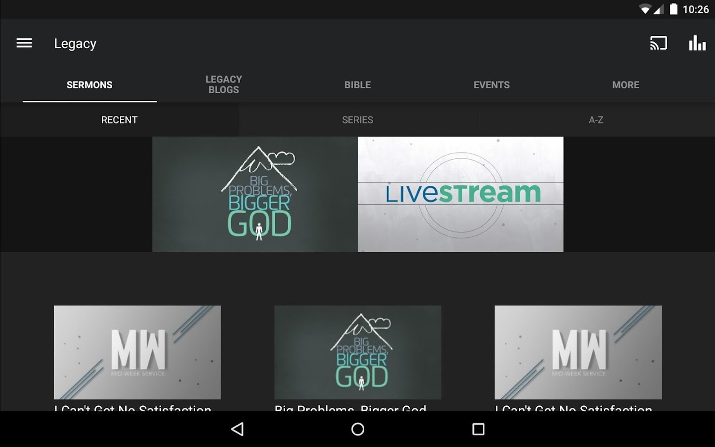 Legacy Church New Mexico- screenshot