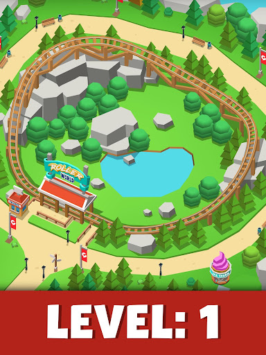 Idle Theme Park Tycoon - Recreation Game apkdebit screenshots 9